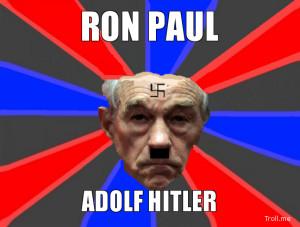 RON PAUL ADOLF HITLER