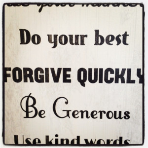 Family Forgiveness Quotes and Sayings