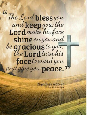 May the good Lord bless you!