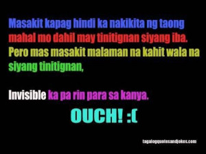 Emo love quotes for her tagalog