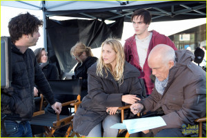 About This Photo Set: Teresa Palmer and Nicholas Hoult get drenched ...