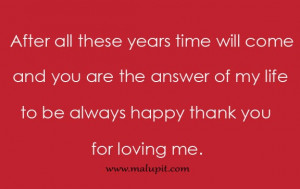 Thank You For Loving Me Quotes For Him More life quotes, love quotes,