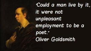 Oliver goldsmith quotes 1