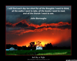 Thursday Quote From John Burroughs