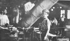 Children Working in a Factory