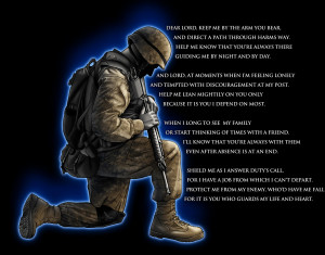 The Prayer of A Soldier