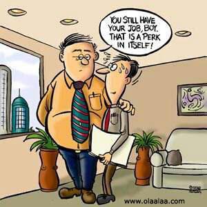 boss and employee
