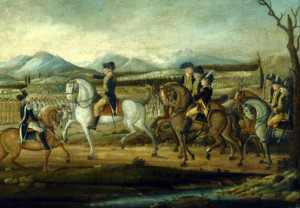 ... force of state militias against the Whiskey Rebellion in 1794