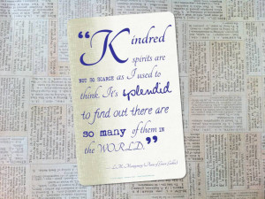 anne shirley quotes kindred spirits