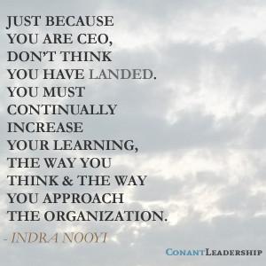 Indra Nooyi Leadership Quote
