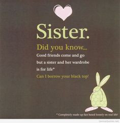 ... with quotes | The best wishes on my sister birthday sister quotes