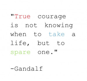 The Hobbit Gandalf Quote by Waffles-Of-Gondolyn