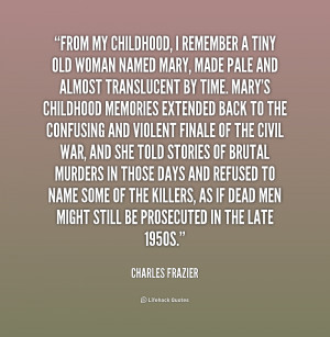 Quotes About Remembering Childhood