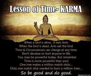 Lessons of Karma