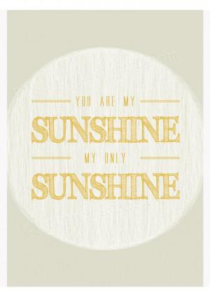 My Sunshine - Unisex Yellow