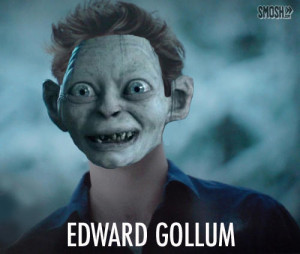 punday vampires edward cullen gollum head