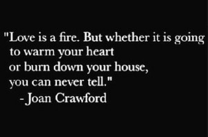 Love Fire But Whether...