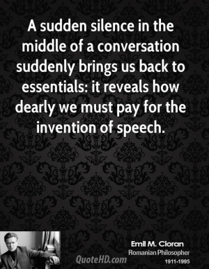 Emile M. Cioran Quotes