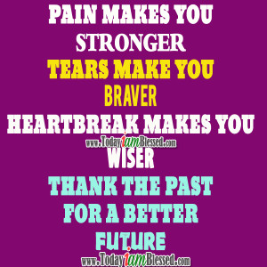 451437 Pain Makes You Stronger Quotes