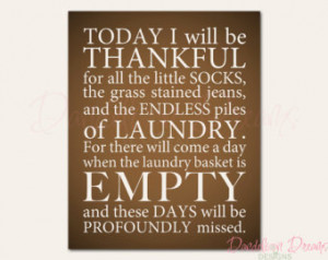 Laundry Room Print - Color Options Available - 8x10 - Wall Decor ...