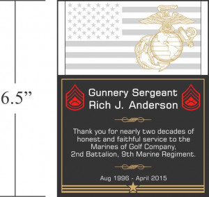 Military Service Plaques