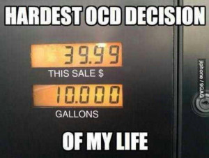 Hardest ocd decision of my life lol....