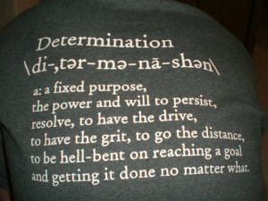 Persistence: The key to the Achievement of Meaningful Goals