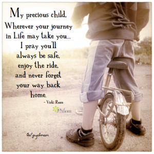 ... way back home.♥ So many more beautiful family quotes on Joy of Mom