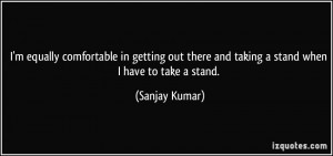 Quotes About Taking A Stand