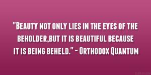 Orthodox Quantum Quote