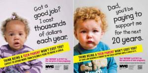 New York's teen-pregnancy ads (nydailynews.com)