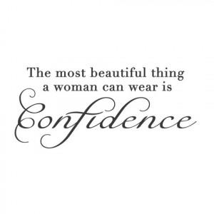Confident Women Quotes Confident woman adhesive