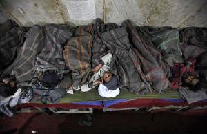 adequate number of night shelters are made available, so that homeless ...