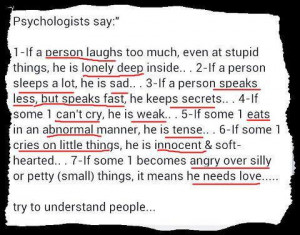 Psychology Quotes On Personality In psychology quotes