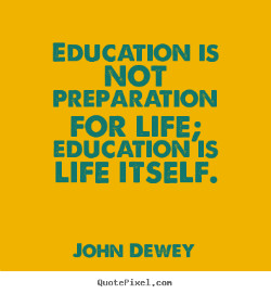 Learning is a life-long journey that continues long after weve all ...