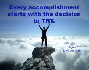 accomplishment sayings