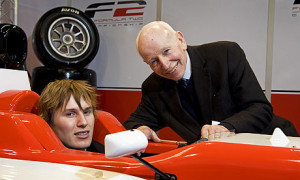 John Surtees and son