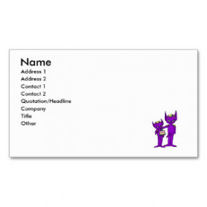 aliens say happy birthday Double-Sided standard business cards (Pack ...