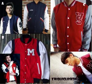 Offer You Varsity Jacket One Direction Zayn Malik Quote