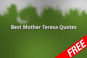 Best Mother Teresa Quotes Screenshots