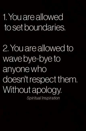 love this! #respect#boundaries