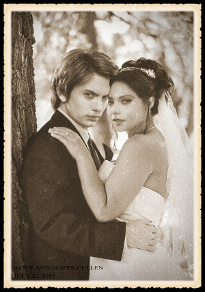 Alice And Jasper Wedding