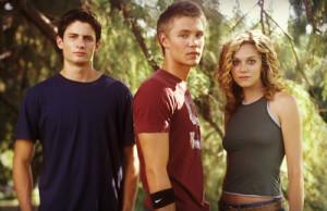 ... Lucas Scott (Chad Michael Murray) e Peyton Sawyer (Hilarie Burton