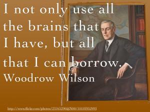 Woodrow Wilson Quotes HD Wallpaper 3