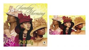 Home African American Gifts 2014 Sunday Morning Calendar and Checkbook