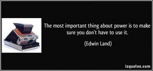 More Edwin Land Quotes