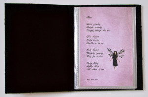 inside book of fairy poems: 4