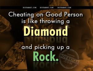 Cheating Quotes and Sayings - Boy Banat