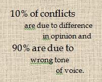 Avoiding Conflict