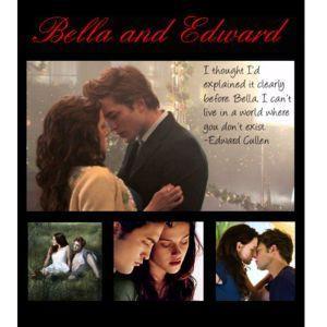 bella and edward 4eva!! - twilight-quotes Fan Art